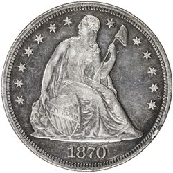UNITED STATES: AR dollar, 1870