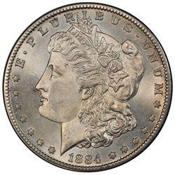 UNITED STATES: AR dollar, 1884-S