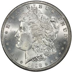 UNITED STATES: AR dollar, 1899-S