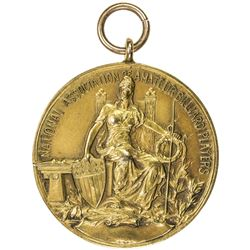 UNITED STATES: AV medal (21.79g), 1918. AU
