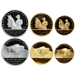 UNITED STATES:, 3-coin proof set, 2017