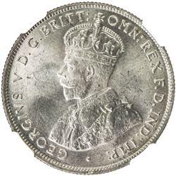 AUSTRALIA: George V, 1910-1936, AR florin, 1931. NGC MS64