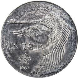 AUSTRALIA: AR dollar, 1967. PCGS PF67