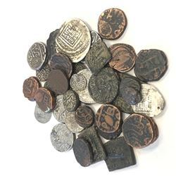 WORLDWIDE: LOT of 36 diverse coins