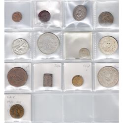 WORLDWIDE: LOT of 14 pieces
