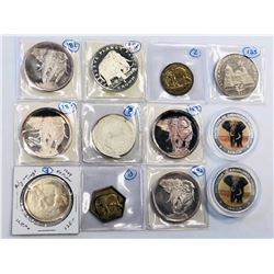 WORLDWIDE: LOT of 22 coins