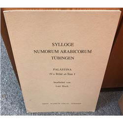 Ilisch, Lutz. Sylloge Numorum Arabicorum Tubingen: Palastina