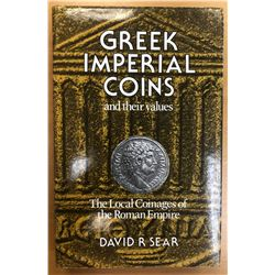 Sear, David R. Greek Imperial Coins and their Values: The Local Coinages of the Roman Empire