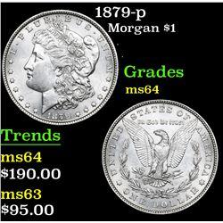 1879-p Morgan Dollar $1 Grades Choice Unc