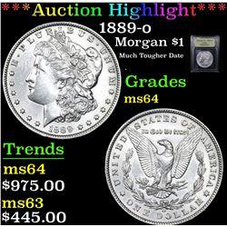 ***Auction Highlight*** 1889-o Morgan Dollar $1 Graded Choice Unc By USCG (fc)