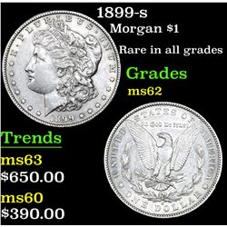 1899-s Morgan Dollar $1 Grades Select Unc