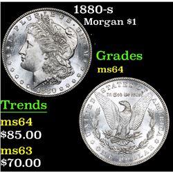 1880-s Morgan Dollar $1 Grades Choice Unc