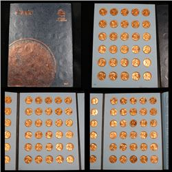 Lincoln cent book 1961-2000 complete set 90 coins . .