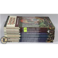 BUNDLE OF 6 DUNGEONS & DRAGONS HARDCOVER