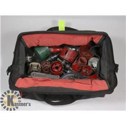 JOBMATE TOOL BAG WITH SEVERAL HOLE SAW KITS