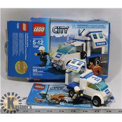 COMPLETE LEGO 7285 - DOG POLICE UNIT