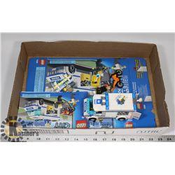 COMPLETE LEGO 7286 - PRISONER TRANSPORT