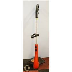 BLACK AND DECKER TRIMMER & HAND HEDGE TRIMMER