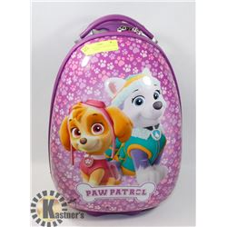 PAW PATROL HAED CASE SUITCASE MADE BY HAYES