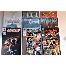 20)  LOT OF 9 ASSORTED COMICS