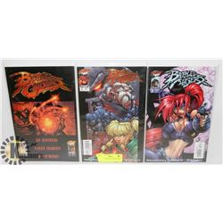 3 BATTLE CHASERS COMIC BOOKS