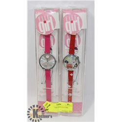 PAIR OF BRAND NEW ELLE GIRL WATCH