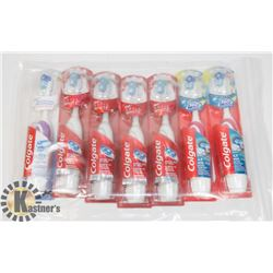 BAG OF COLGATE ELECTRIC TOOTHBRUSHES