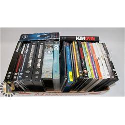 FLAT OF MAINLY SEASON SERIES DVD'S