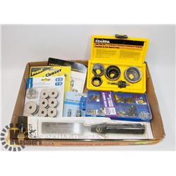 FLAT WITH HOLE SAW SET AND MORE
