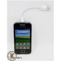 STORAGE LOCKER FIND SAMSUNG GALAXY ACE SMARTPHONE