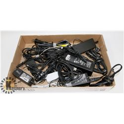 FLAT OF ELECTRONICS CHARGERS