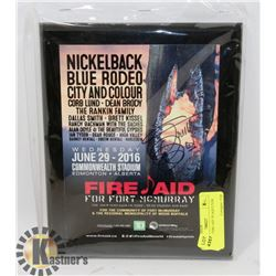 "ORIGINAL ""FIRE AID"" PLAQUE FOR"
