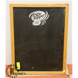 VINTAGE DR. PEPPER CHALK BOARD