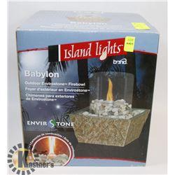 NEW BABYLON BOND ISLAND LIGHTS
