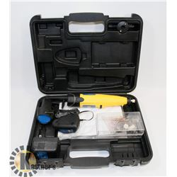 POWERFIST CORDLESS RECHARGEABLE ROTARY TOOL KIT.