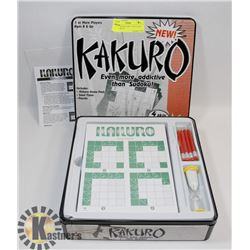 NEW KAKURO GAME - AGES 8 AND UP - OVER 150