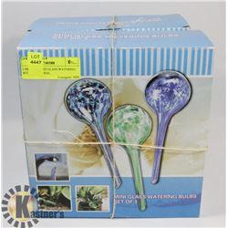 2 PKS NEW MINI GLASS WATERING BULBS - GENERAL,