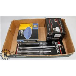 FLAT OF NEW TOOLS INCL MAGNETIC PARTS TRAY, GEAR