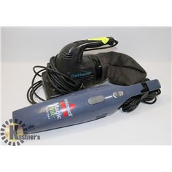 DIRT BUSTER & BISSELL VACUUM.