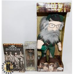 NEW DUCK COMMANDERS UNCLE SI TALKING PUSH