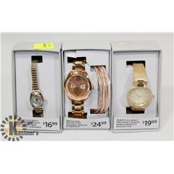 LOT OF 3 NEW WATCHES