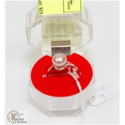#65-FRESH WATER PEARL LAVENDER RING