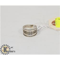 STERLING SILVER BALI RING SIZE 9.75.