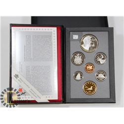 1995 PROOF CASED COIN SET DOUBLE DOLLAR COIN SET