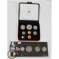 1973 AND 1974 CANADA COIN SETS