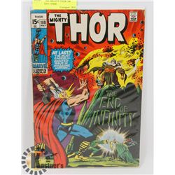 VINTAGE THE MIGHTY THOR 188 MAY 15 CENT COMIC
