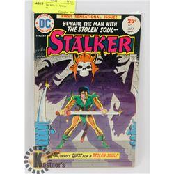 VINTAGE STALKER JULY NO 1 COMIC BOOK