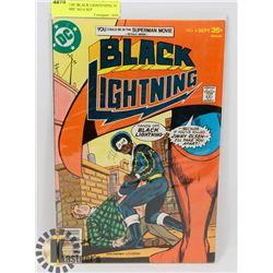 VINTAGE DC BLACK LIGHTENING 35 CENT COMIC NO 4 SEP