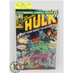"""VINTAGE THE INCREDIBLE HULK""""ALONE AGAINST THE"""