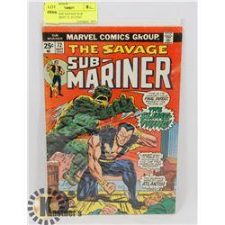 VINTAGE THE SAVAGE SUB MARINER SEPT 72 -25 CENT